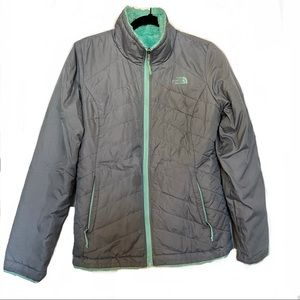 The North Face Insulated Reversible Jacket Gray